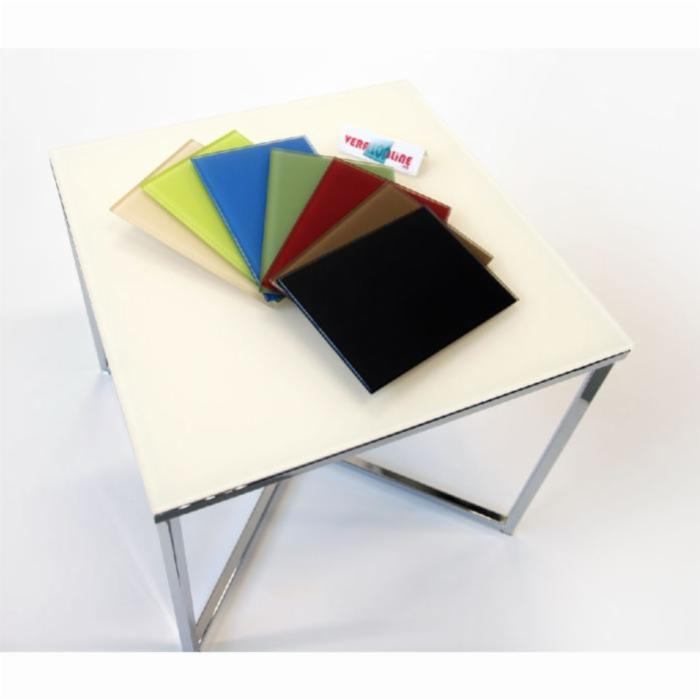 Verre maill brillant pour entre meuble de cuisine ou - Verre securit pour table ...